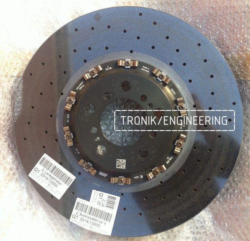 Керамические тормозные диски M Carbon на любой BMW. Фотография 2