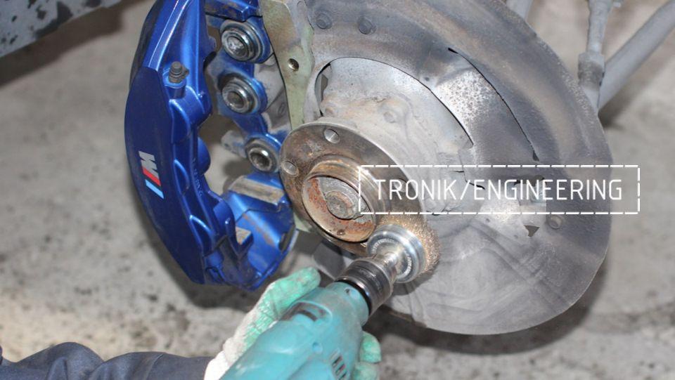Замена тормозных колодок в многопоршневых суппортах Brembo. Фотография 13