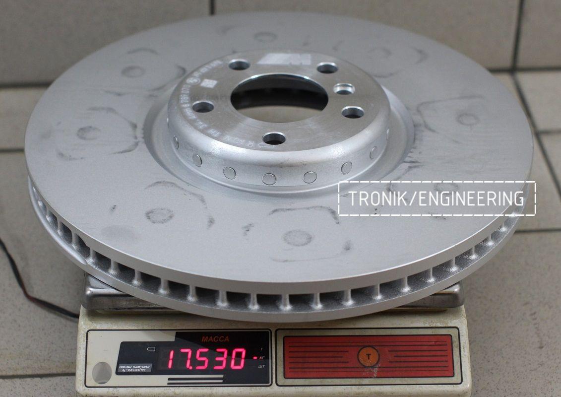 Материалы и конструкция тормозных дисков. Фотография 9