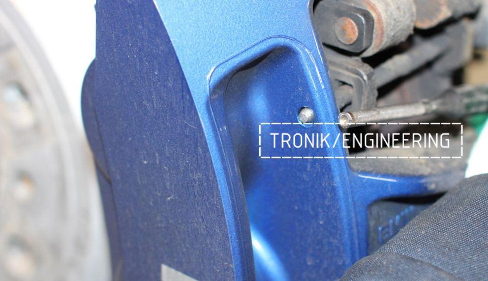 Замена тормозных колодок в многопоршневых суппортах Brembo. Фотография 7