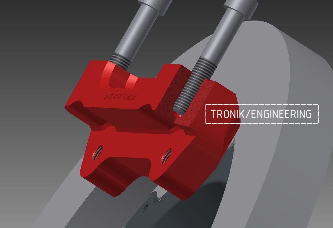 Проектирование и изготовление комплектующих для сборки тормозной системы AP Racing. Фотография 6