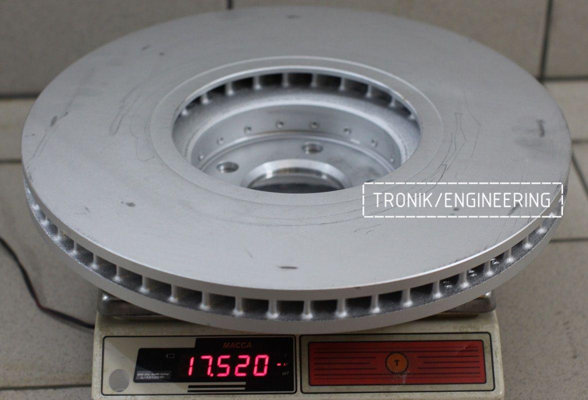Материалы и конструкция тормозных дисков. Фотография 10