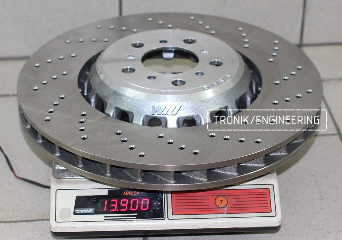 Материалы и конструкция тормозных дисков. Фотография 6