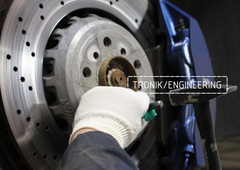 Замена тормозных колодок в многопоршневых суппортах Brembo. Фотография 5