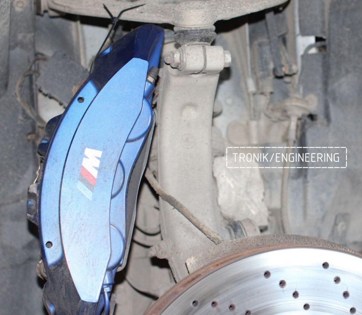 Замена тормозных колодок в многопоршневых суппортах Brembo. Фотография 9