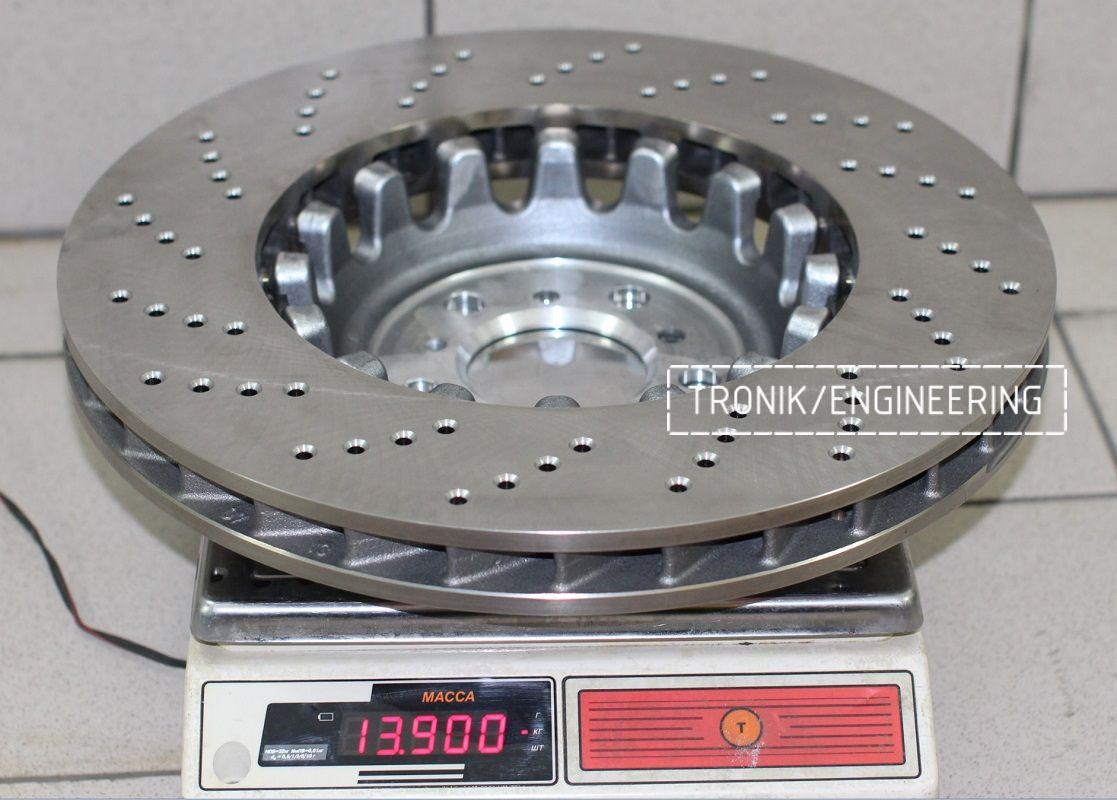 Материалы и конструкция тормозных дисков. Фотография 7