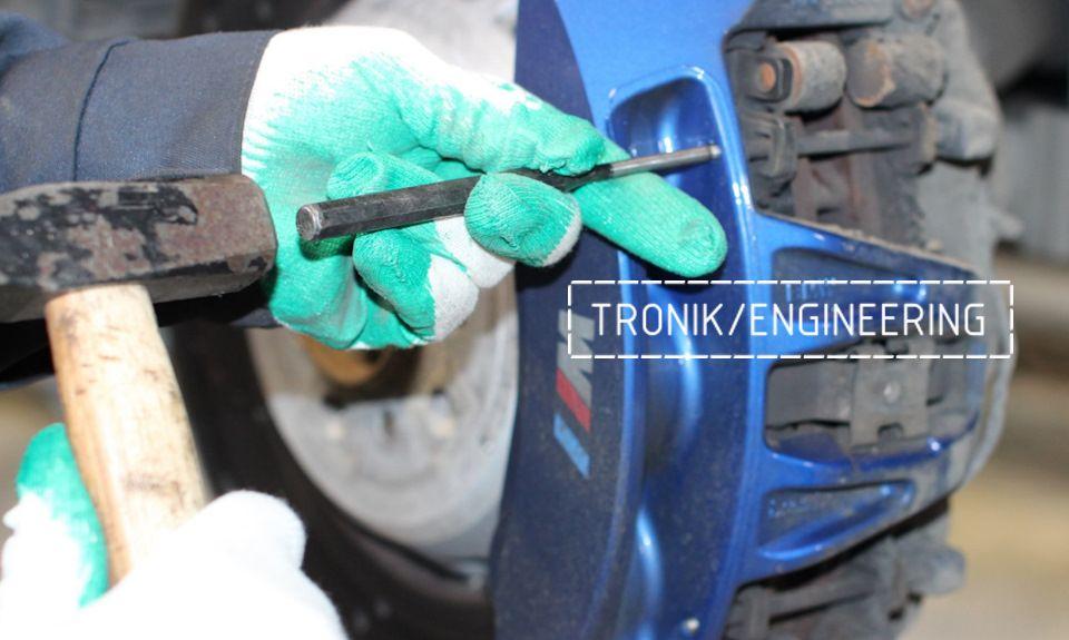 Замена тормозных колодок в многопоршневых суппортах Brembo. Фотография 8