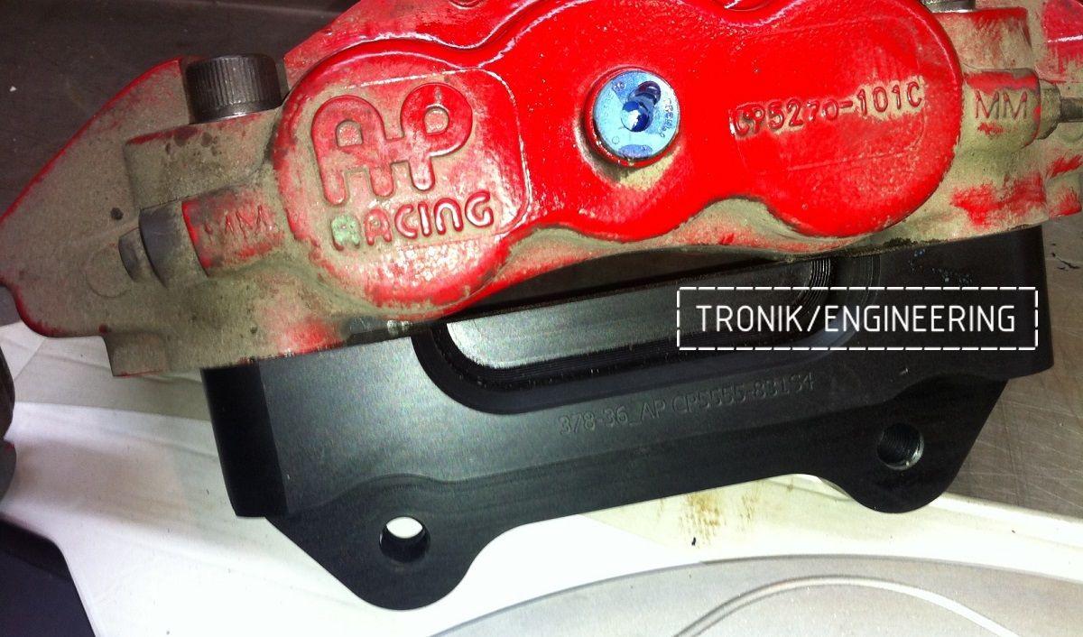 Проектирование и изготовление комплектующих для сборки тормозной системы AP Racing. Фотография 10