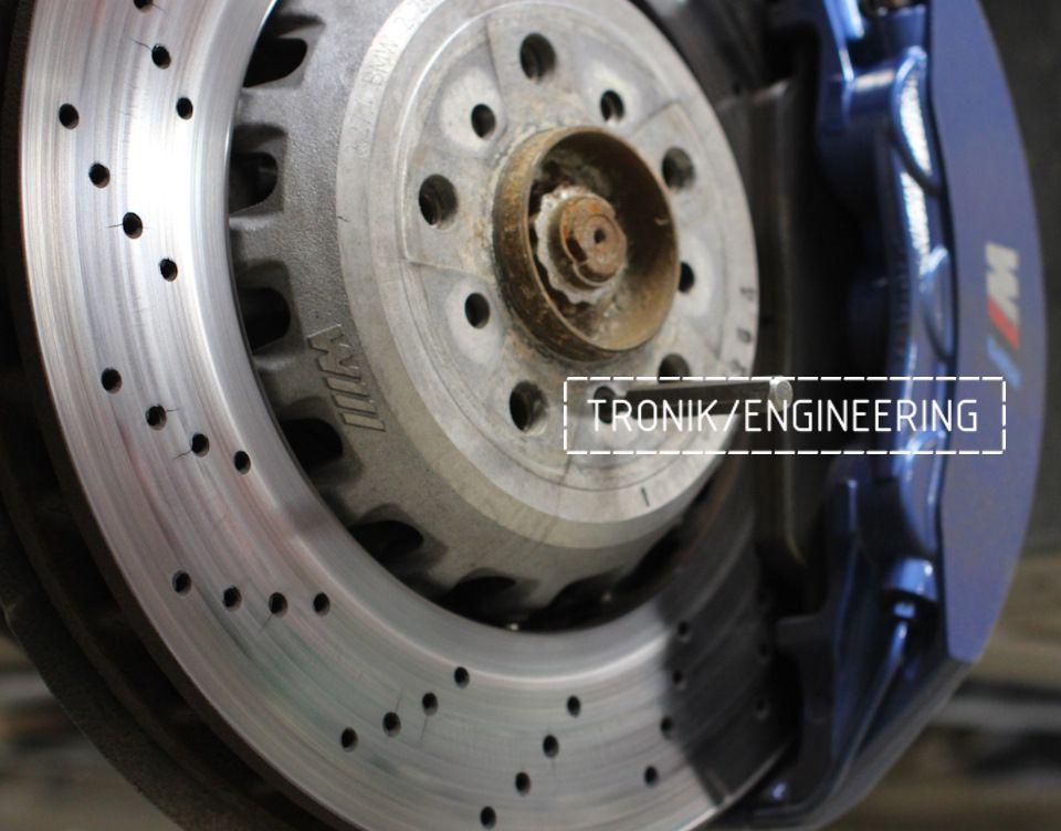 Замена тормозных колодок в многопоршневых суппортах Brembo. Фотография 4