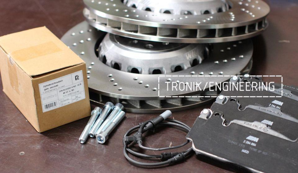 Замена тормозных колодок в многопоршневых суппортах Brembo. Фотография 12