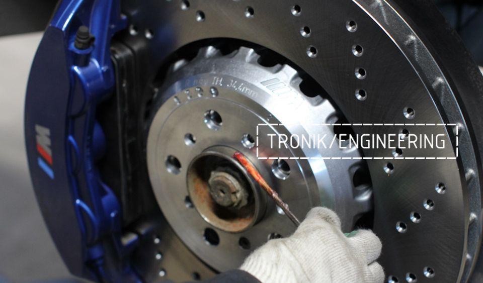 Замена тормозных колодок в многопоршневых суппортах Brembo. Фотография 19