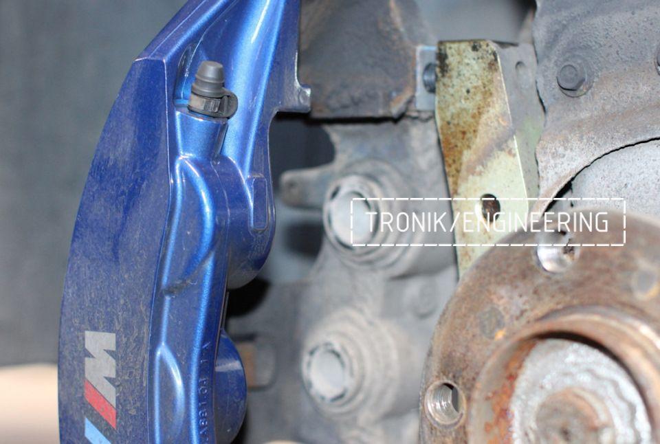 Замена тормозных колодок в многопоршневых суппортах Brembo. Фотография 11