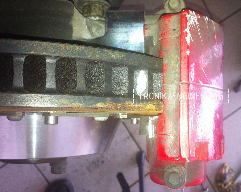 Проектирование и изготовление комплектующих для сборки тормозной системы AP Racing. Фотография 5