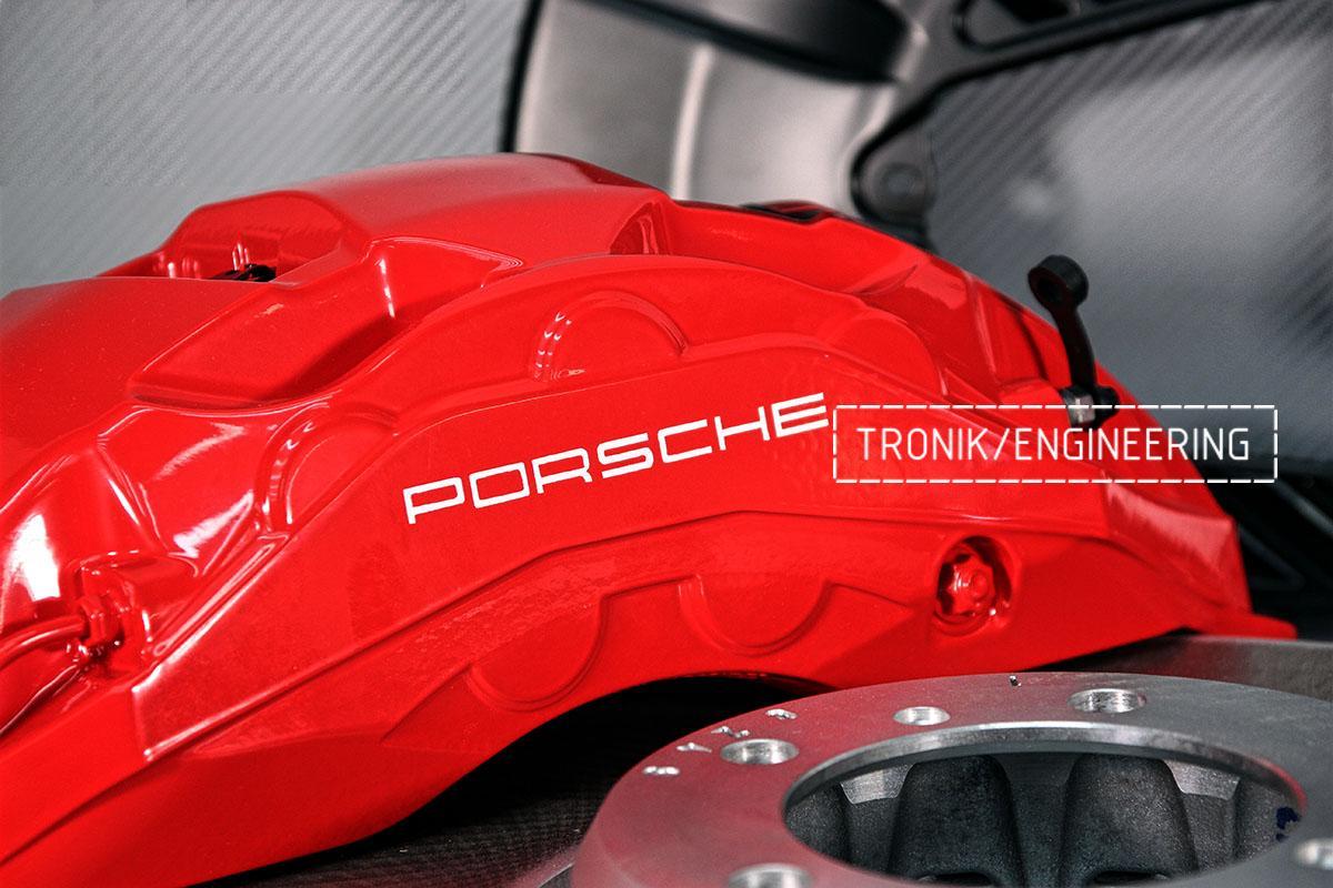 Комплект дооснащения 10-ти поршневым суппортом и диском 420-40 мм для Porsche Panamera 970 и 971. Фотография 7
