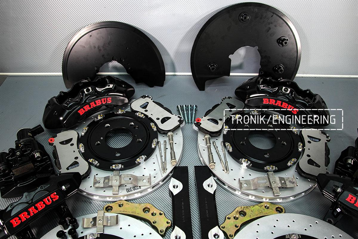 Комплект тормозной системы Mercedes-Benz G500 W463. фото 3