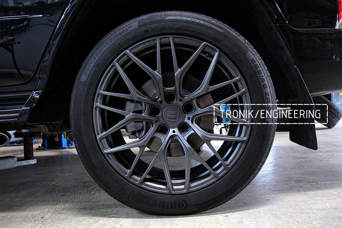 Штатная тормозная система Mercedes-Benz G500 W463