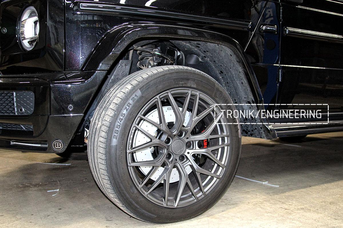 Тормозная система Mercedes-Benz G500 W463. Фото 2
