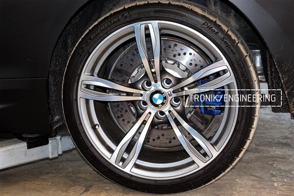 Тормозная система BMW M6 F06 задней оси. Фото 2