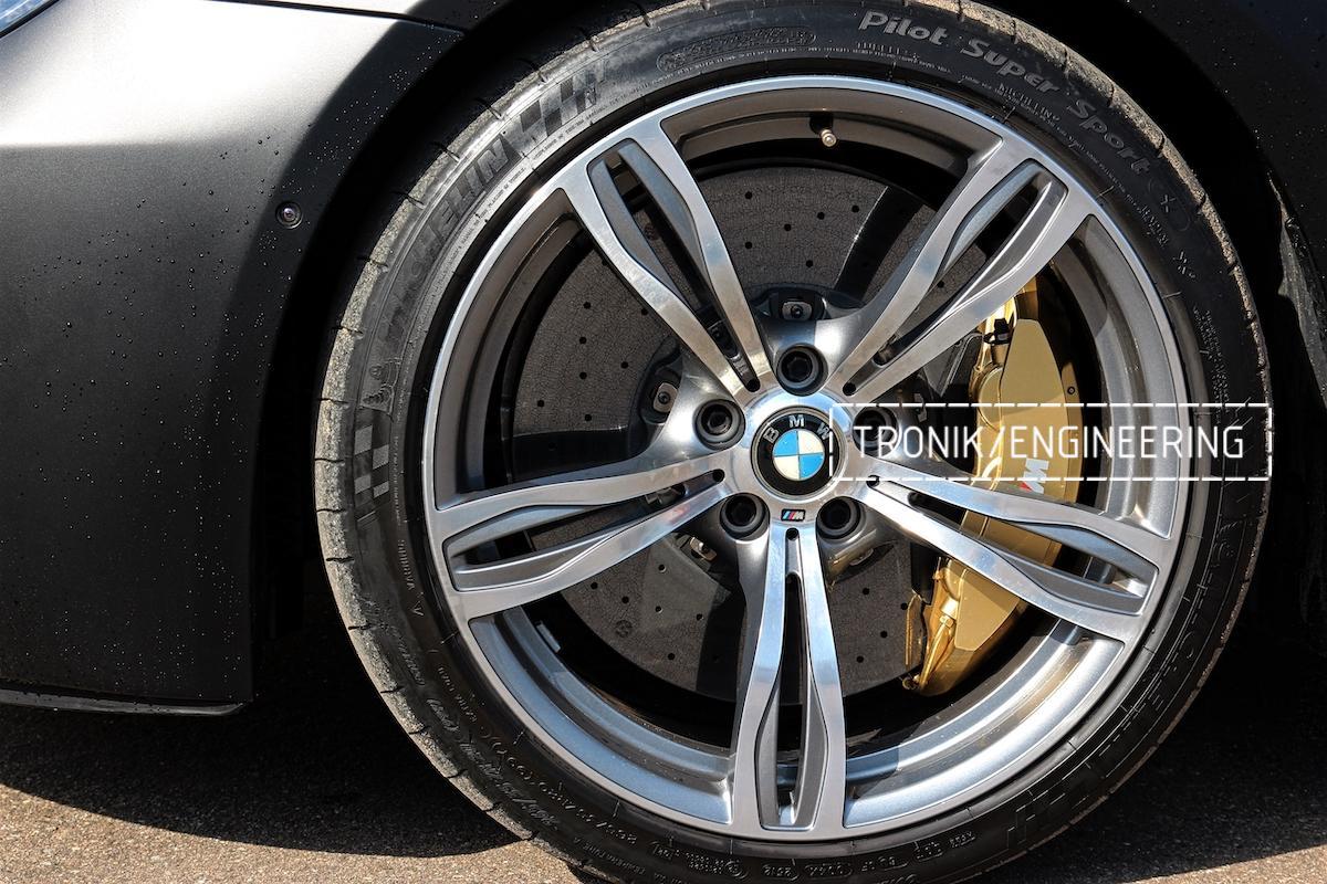 Карбон-керамическая тормозная система BMW M6 F06