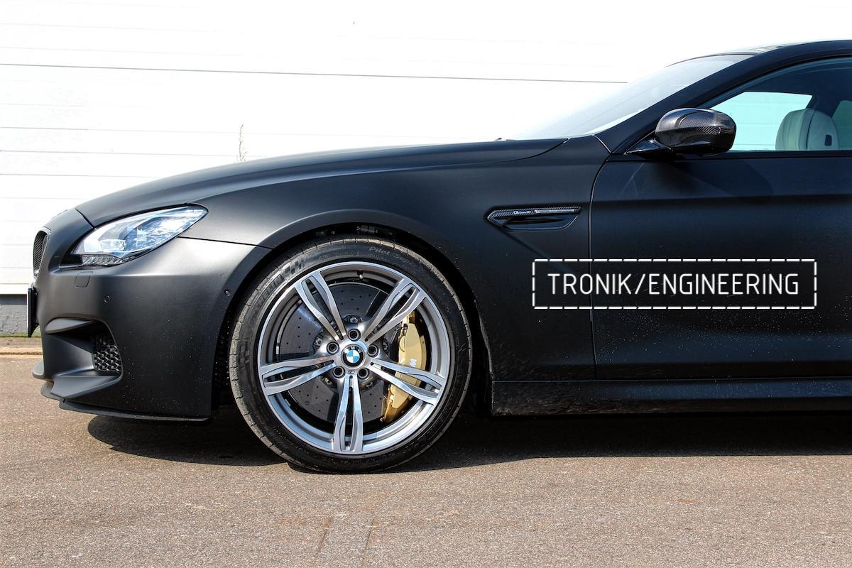 Карбон-керамическая тормозная система BMW M6 F06. Фото 3