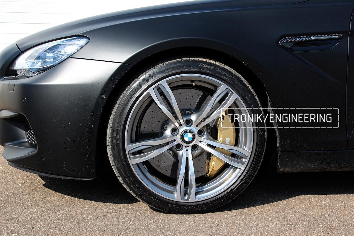 Карбон-керамическая тормозная система BMW M6 F06. Фото 1