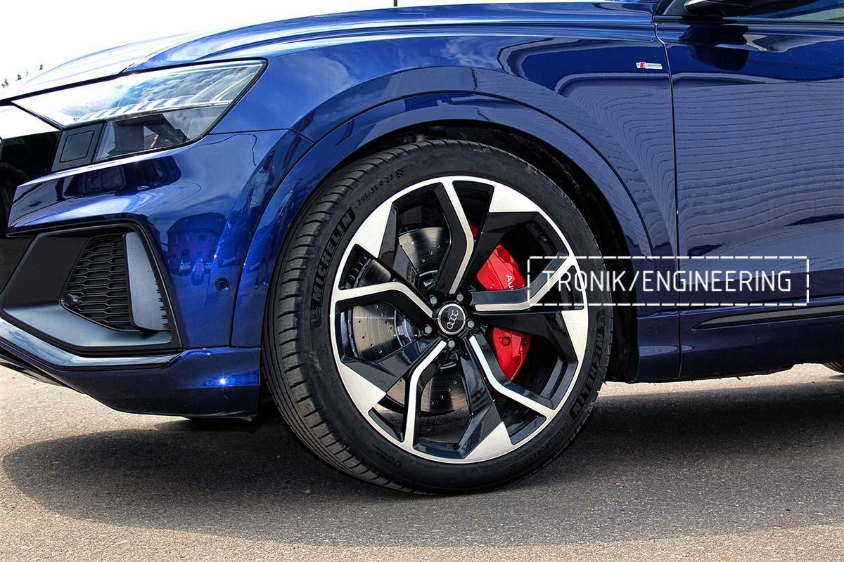 Тормозная система передней оси Audi RSQ8. Фотография 13