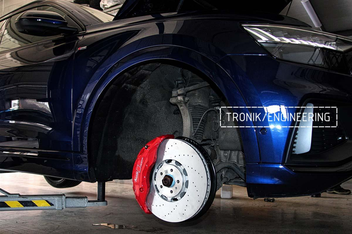 Тормозная система передней оси Audi RSQ8. Фотография 5