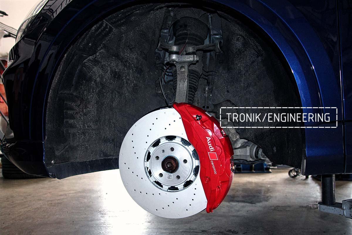 Тормозная система передней оси Audi RSQ8. Фотография 6