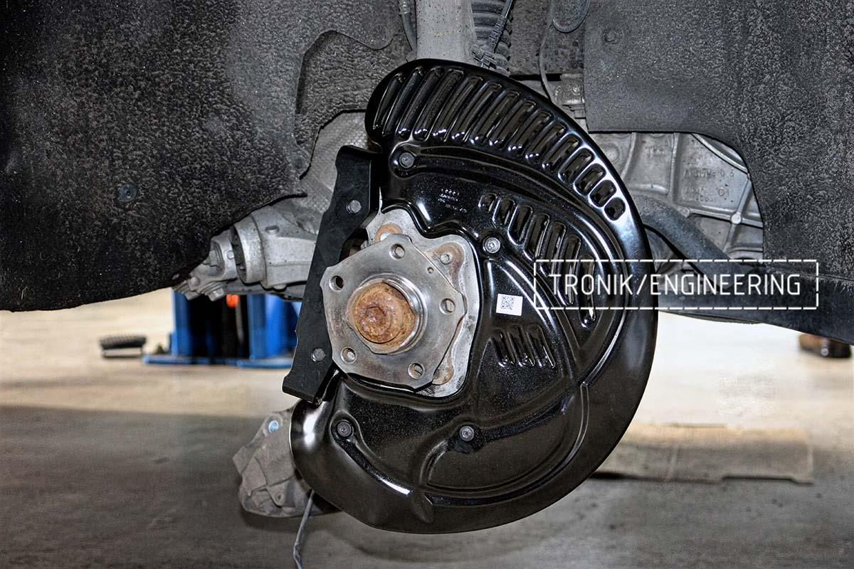 Тормозная система передней оси Audi RSQ8. Фотография 2