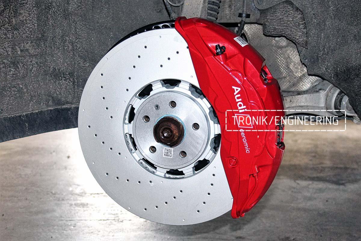 Тормозная система передней оси Audi RSQ8. Фотография 7