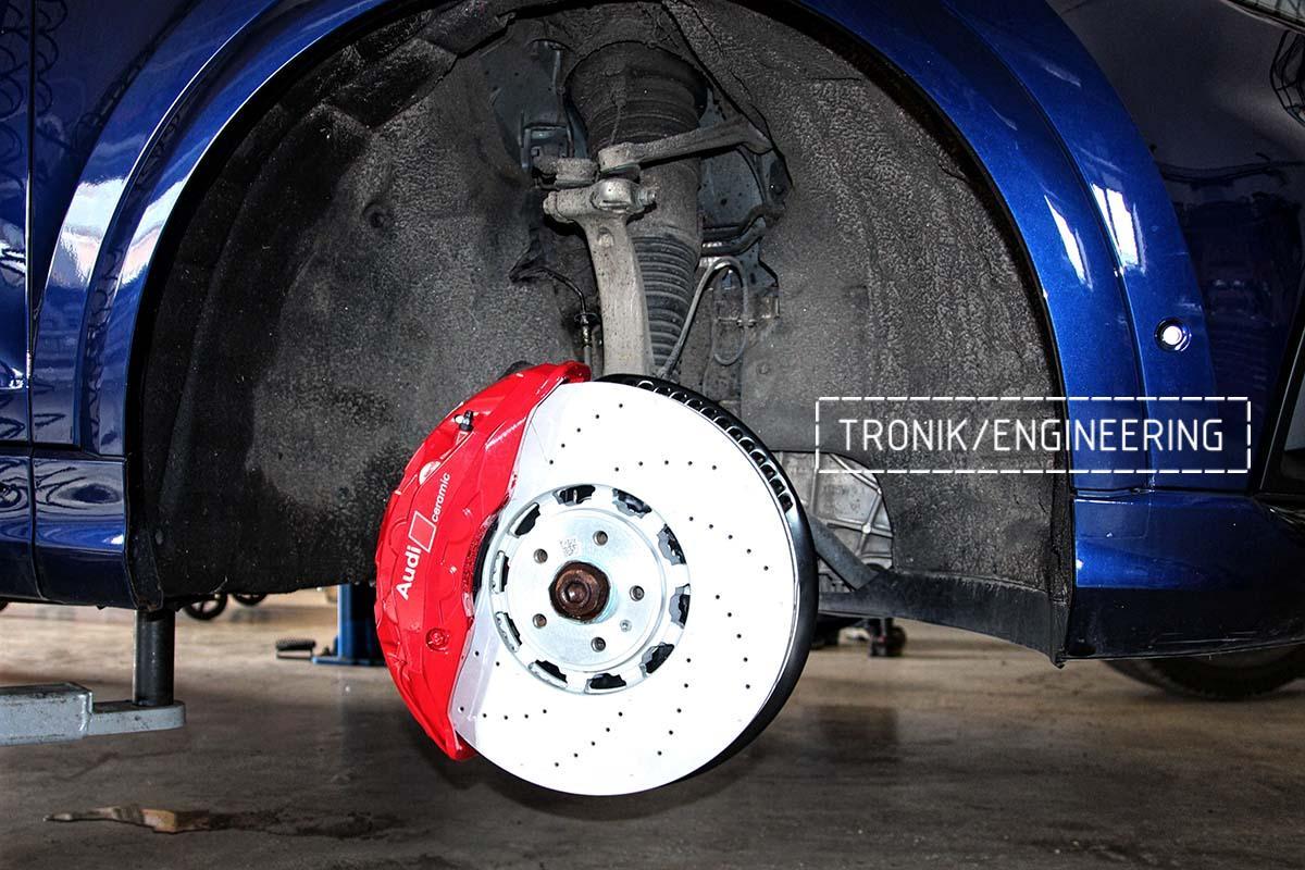 Тормозная система передней оси Audi RSQ8. Фотография 4