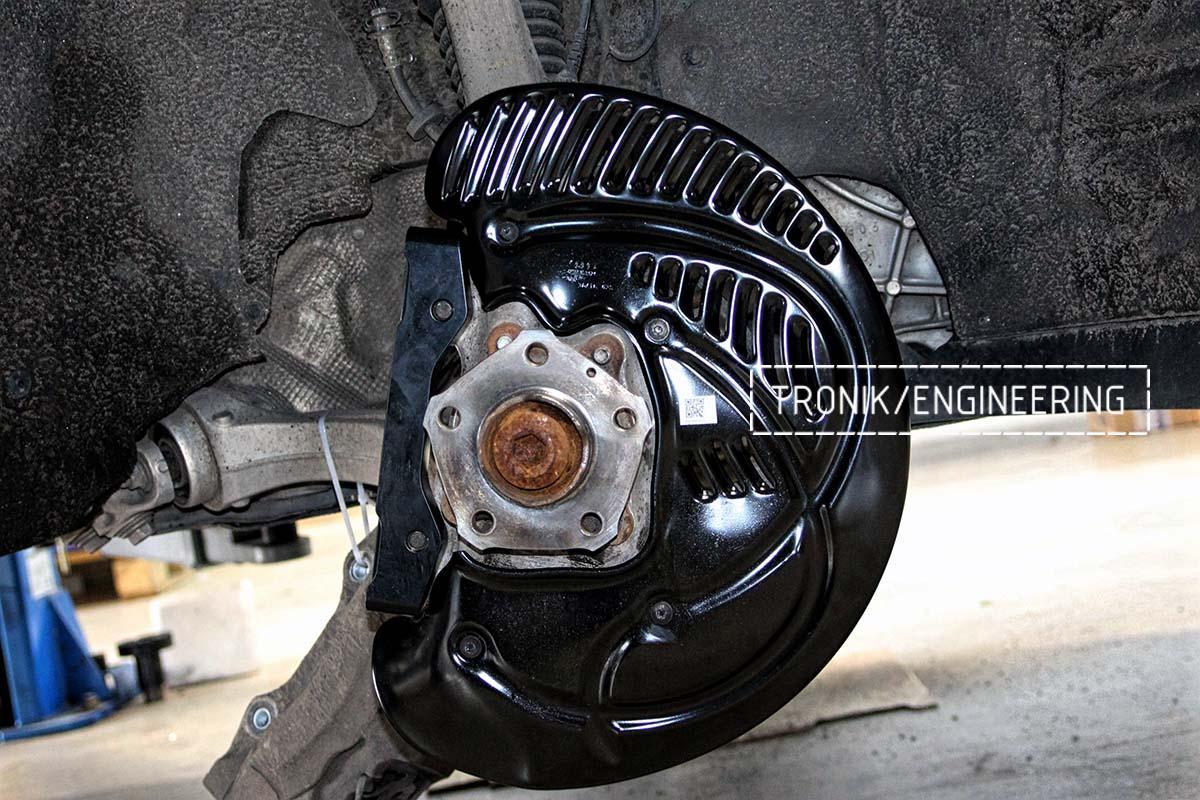 Тормозная система передней оси Audi RSQ8. Фотография 1