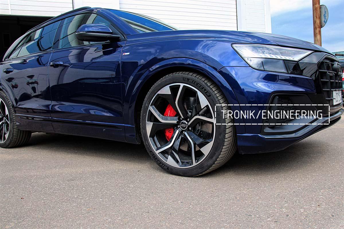Тормозная система передней оси Audi RSQ8. Фотография 8