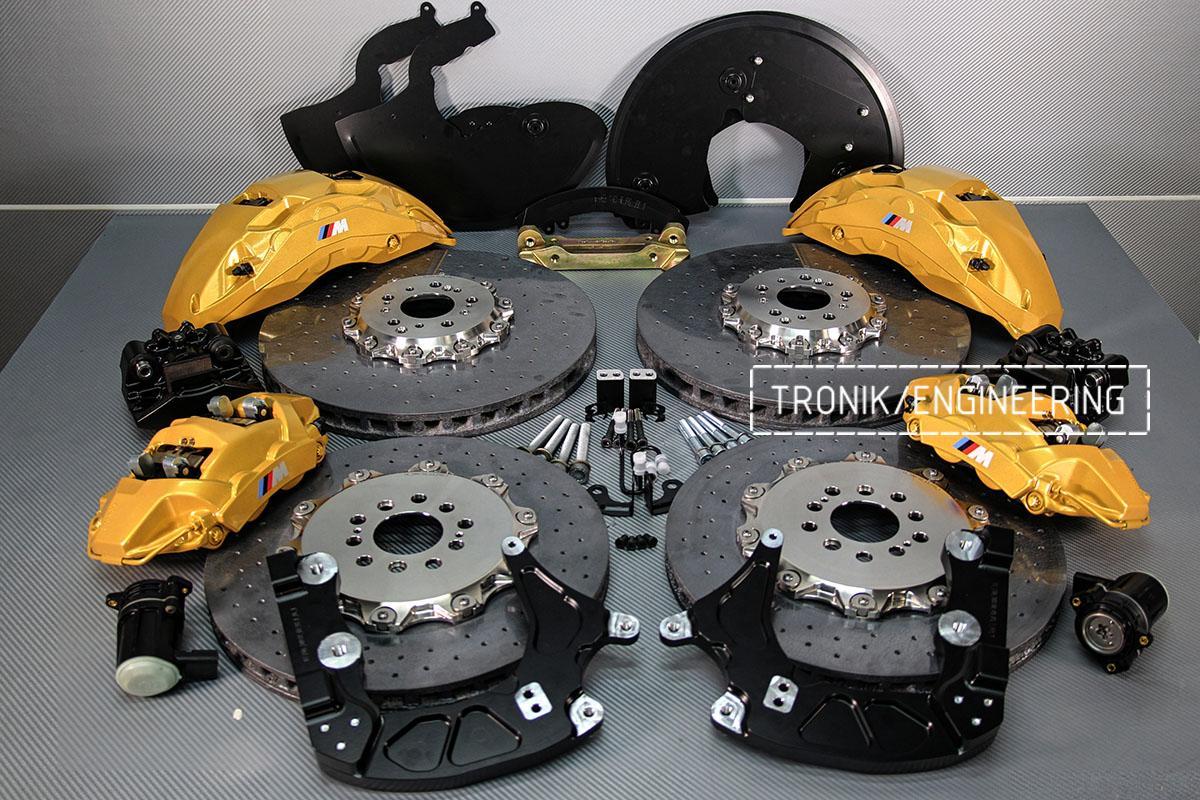 Комплект карбон-керамической тормозной системы BMW X5 F95