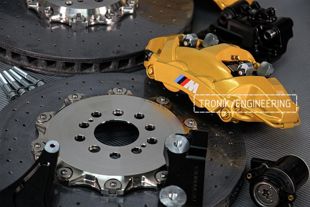 Задние суппорта BMW F95. Фото 3