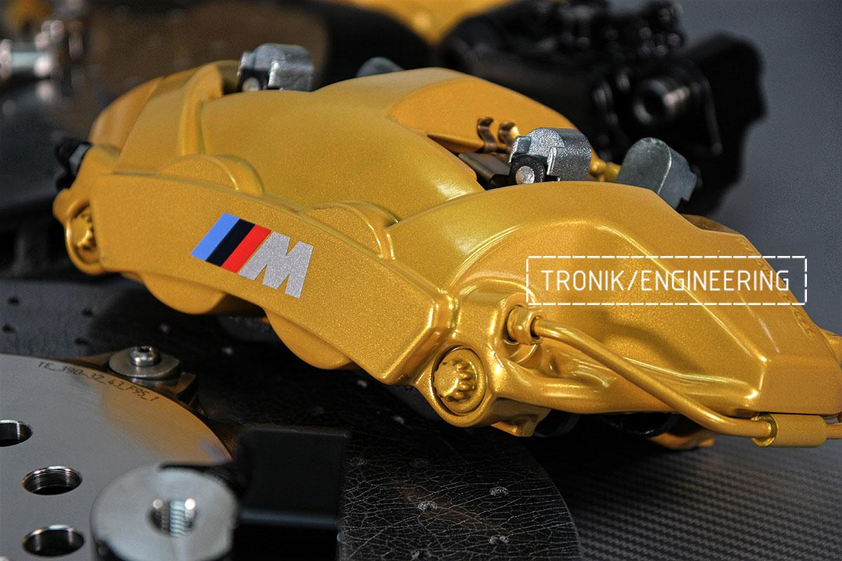Задние суппорта BMW F95. Фото 1