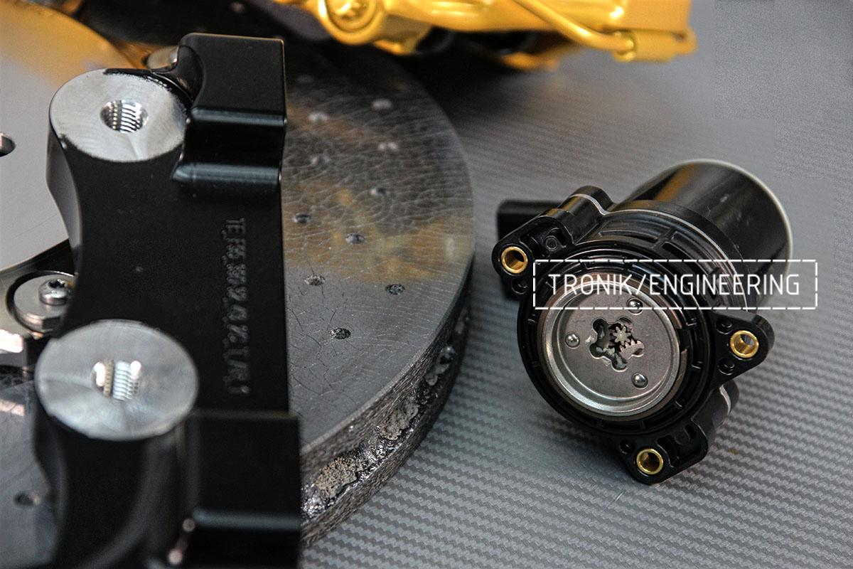 Моторчик стояночного тормоза