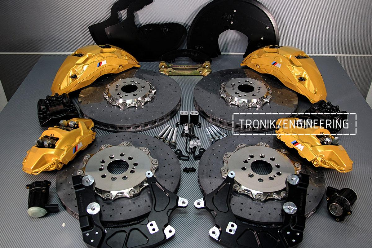 Комплект карбон-керамической тормозной системы BMW X5 F95. Фото 2