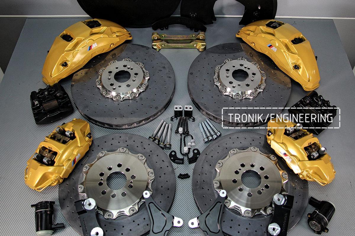Комплект карбон-керамической тормозной системы BMW X5 F95. Фото 1