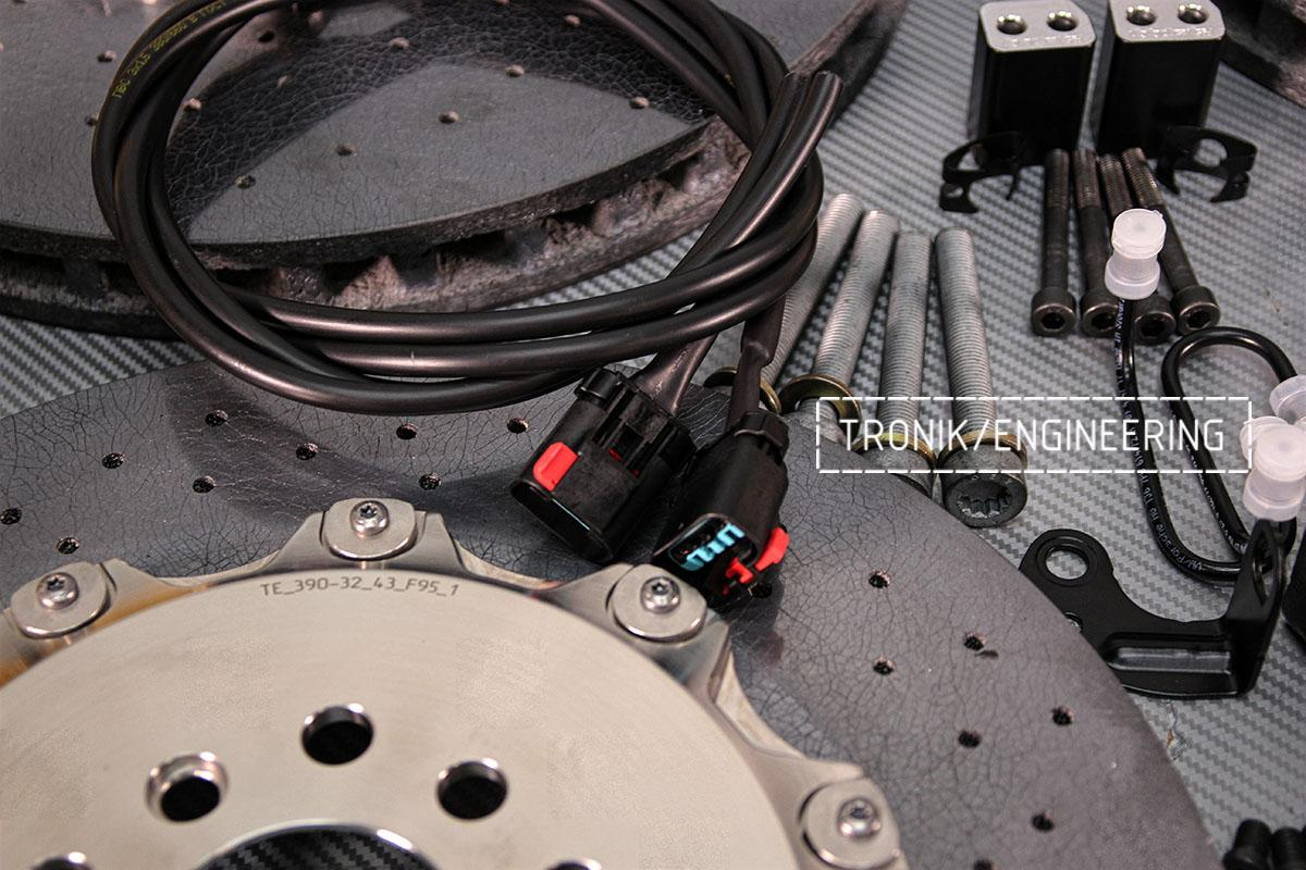 Коннектор моторчика стояночного тормоза