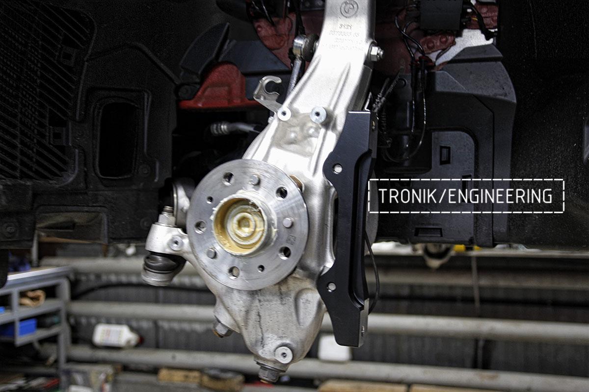 Комплект карбон-керамической тормозной системы BMW X6 F96. Фотография 11