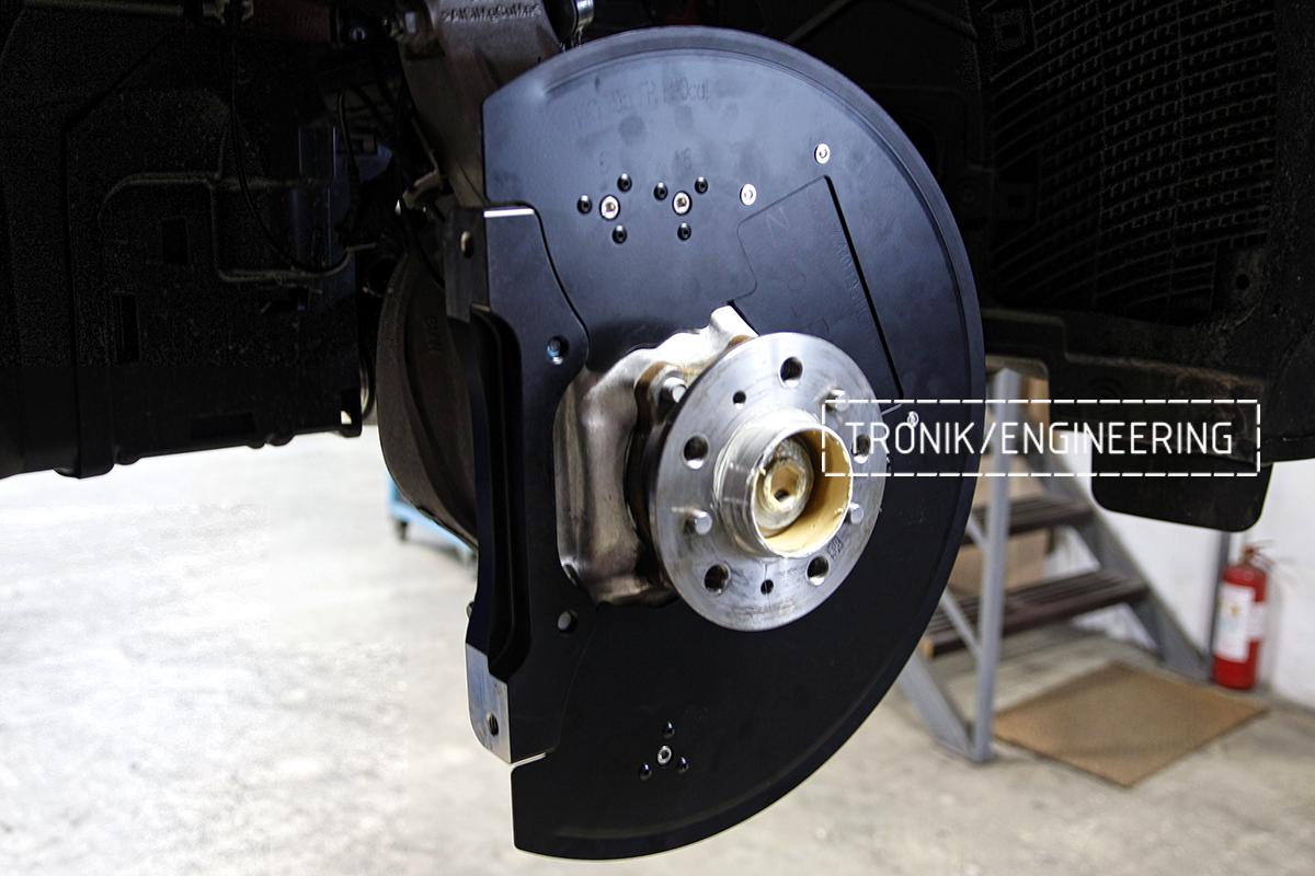 Комплект карбон-керамической тормозной системы BMW X6 F96. Фотография 10