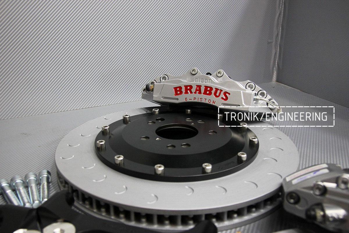 Тормозная система Mercedes-Benz W124. Фотография 5