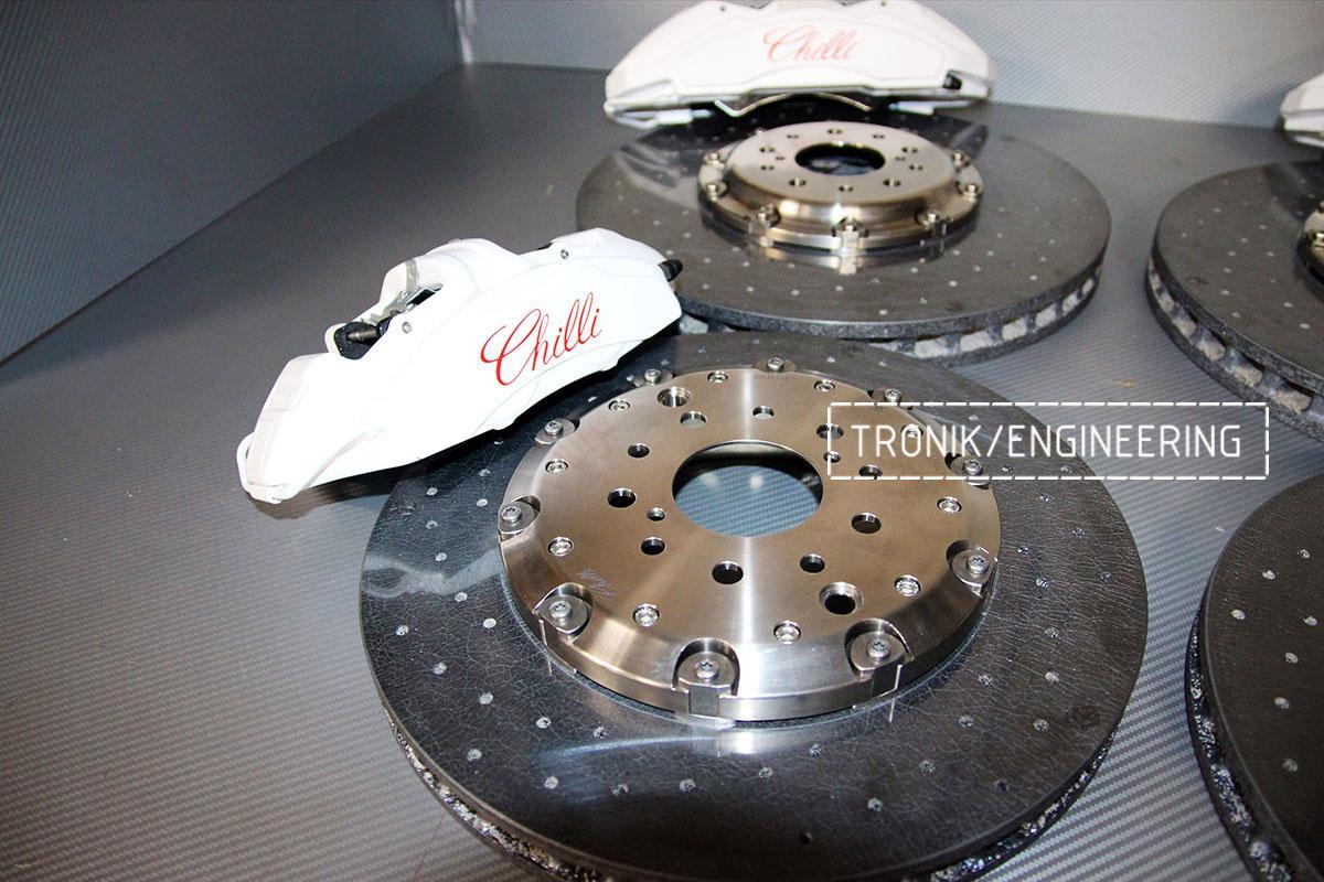 Комплект карбон-керамической тормозной системы Nissan GT-R. Фотография 2