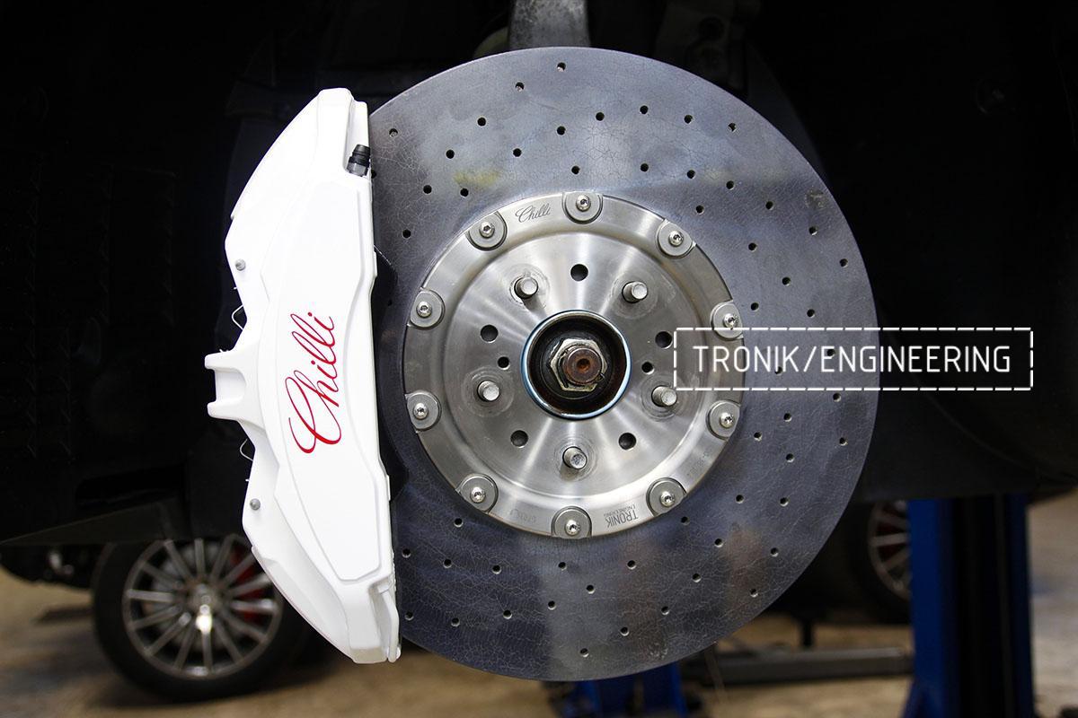Комплект карбон-керамической тормозной системы Nissan GT-R. Фотография 9
