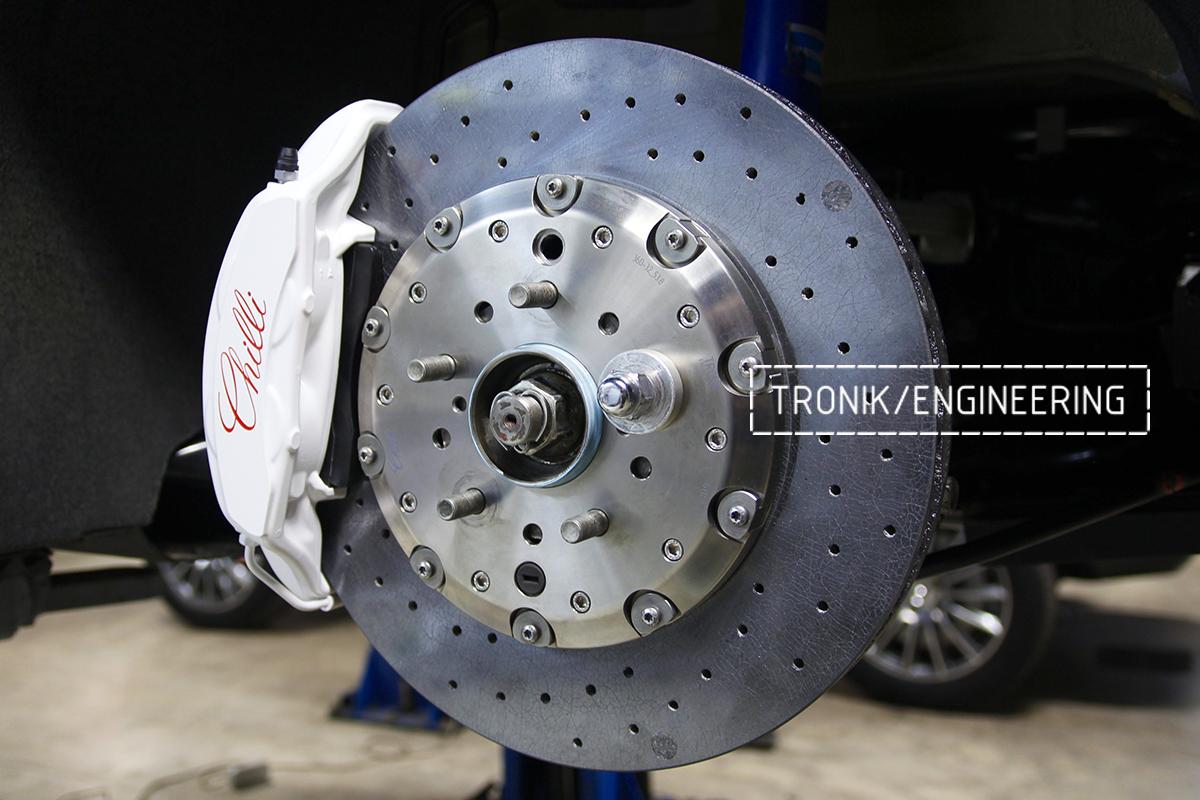Комплект карбон-керамической тормозной системы Nissan GT-R. Фотография 6