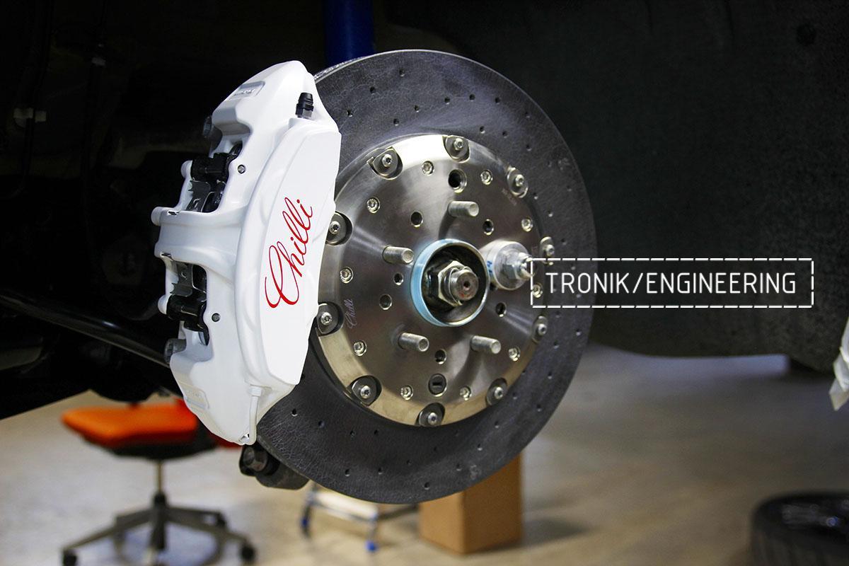 Комплект карбон-керамической тормозной системы Nissan GT-R. Фотография 12