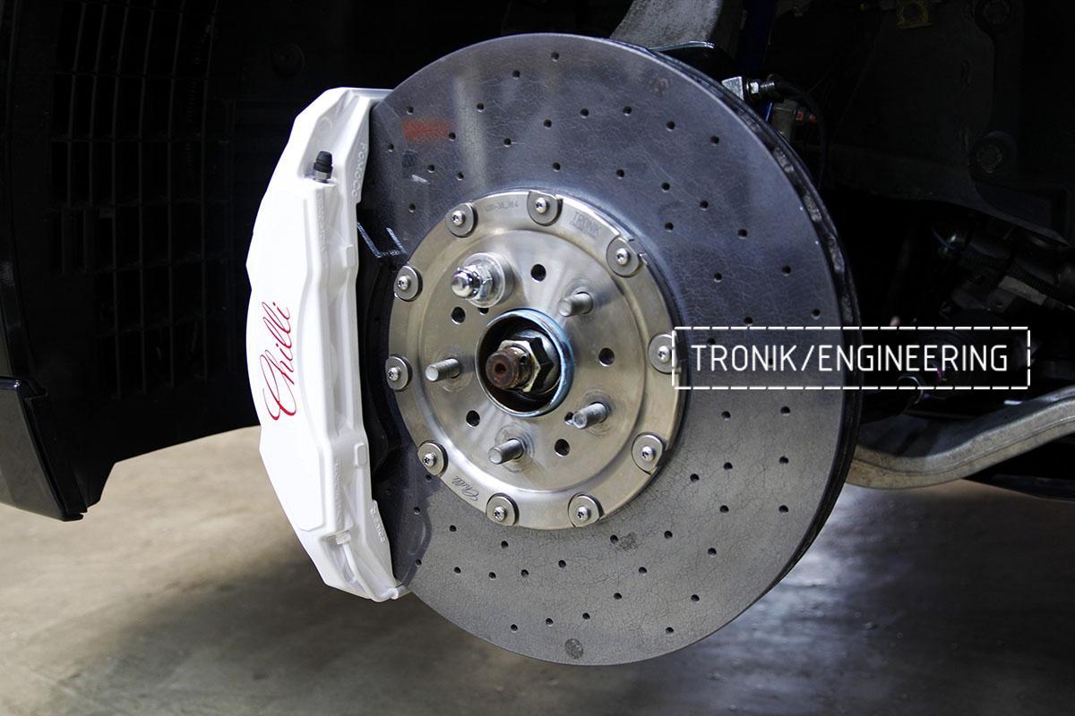 Комплект карбон-керамической тормозной системы Nissan GT-R. Фотография 4