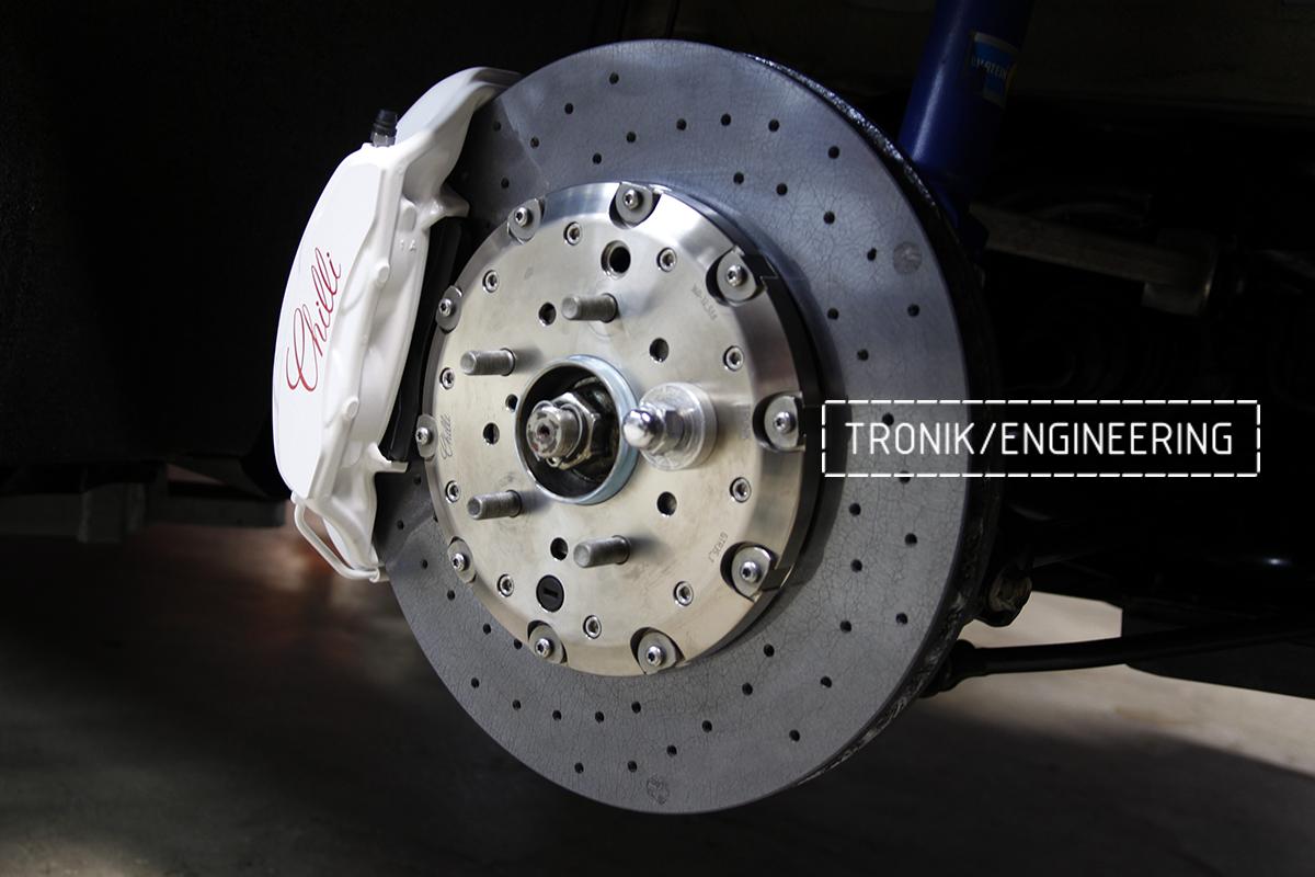 Комплект карбон-керамической тормозной системы Nissan GT-R. Фотография 13