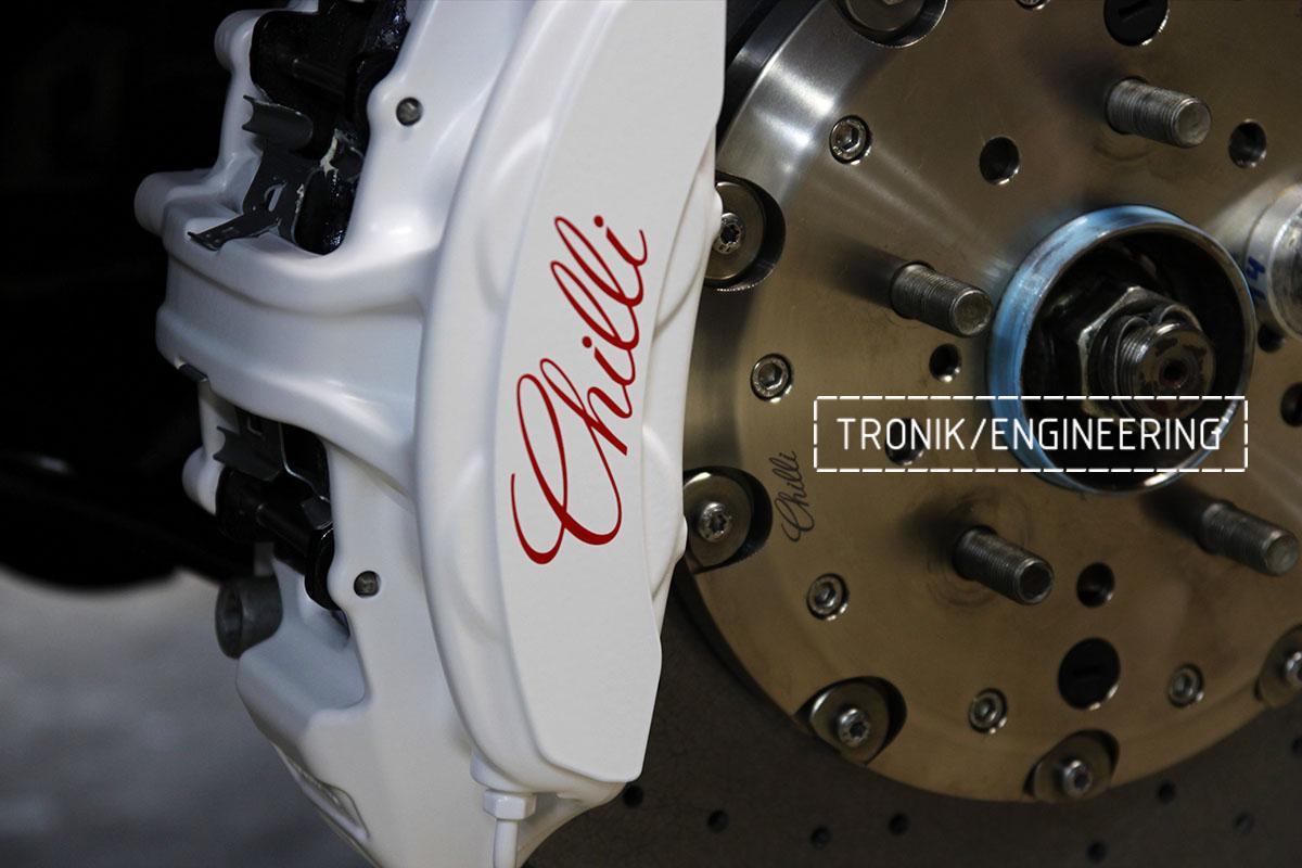 Комплект карбон-керамической тормозной системы Nissan GT-R. Фотография 5
